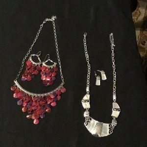 Jewelry - Holiday Party Jewelry! One set $15 or both for $25